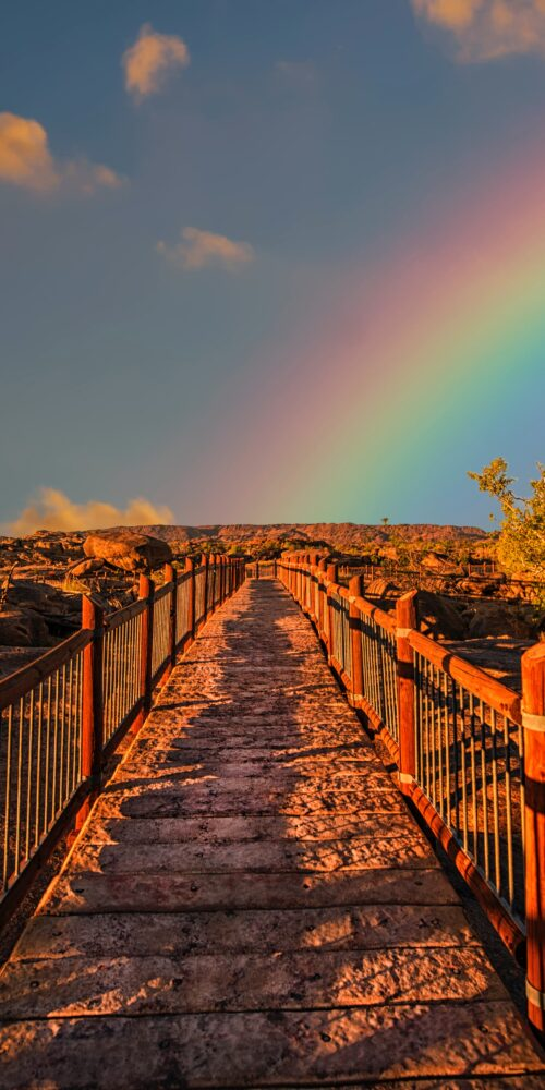 spiritual path rainbow hope